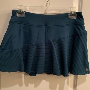 Lija green tennis skirt, size M